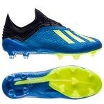 adidas X 18.1 FG/AG Energy Mode - Bleu/Jaune