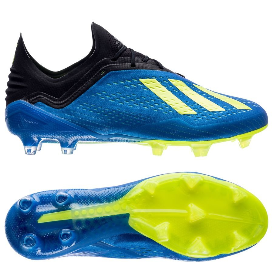 finest selection df563 7eb24 adidas X 18.1 FG AG Energy Mode - Blue Yellow   www.unisportstore.com
