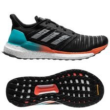 adidas Solar Boost Core Black/Hi-Res Aqua