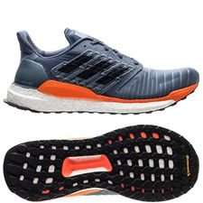 adidas solar boost - blå/grå/orange - sneakers