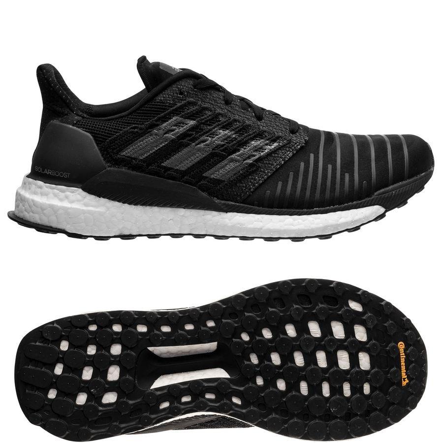 4ce608709c1ec ... canada adidas solar boost sort grå hvit løpesko b08af 4b2dc