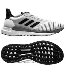 adidas solar glide boost - hvid/sort/grå - sneakers