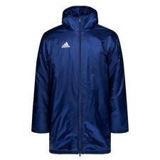 adidas stadionjacke core 18 - navy/weiß - jacken