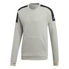 adidas træningstrøje id stadium climaheat - sølv/sort - træningstrøjer