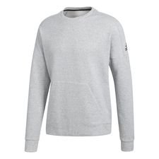 Image of   adidas Sweatshirt Crewneck Stadium - Grå/Sort