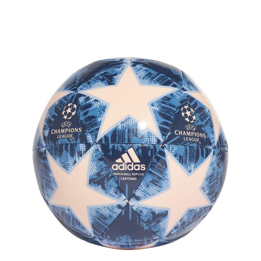 adidas Fodbold Champions League 2018 Finale Capitano - Hvid/Blå