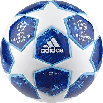 adidas Fodbold Champions League 2018 Finale Mini - Hvid/Sort