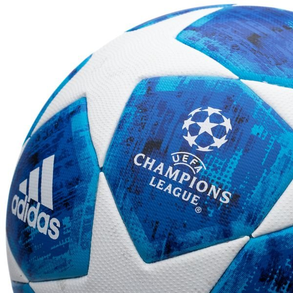 5ec3525bb6f ... adidas football champions league 2018 final match ball - white blue -  footballs ...