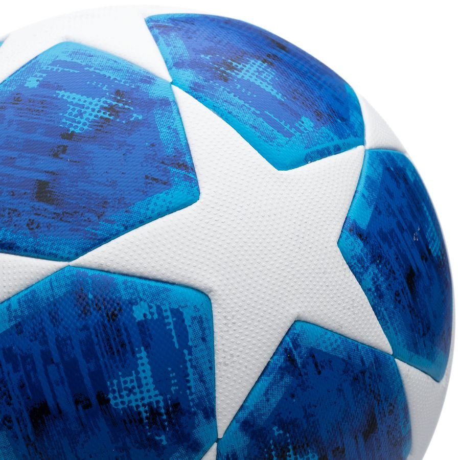 bb2a61a8e97 adidas football champions league 2018 final match ball - white blue -  footballs