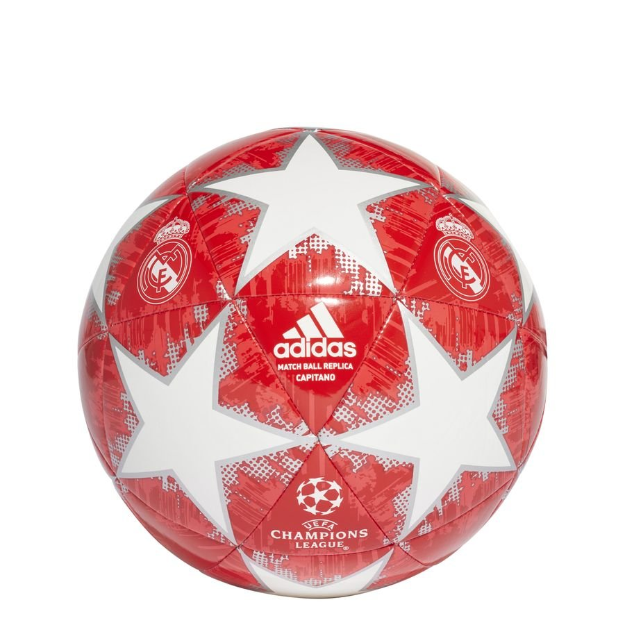 Real Madrid Fodbold Champions League 2018 Finale Capitano - Hvid/Sølv/Rød
