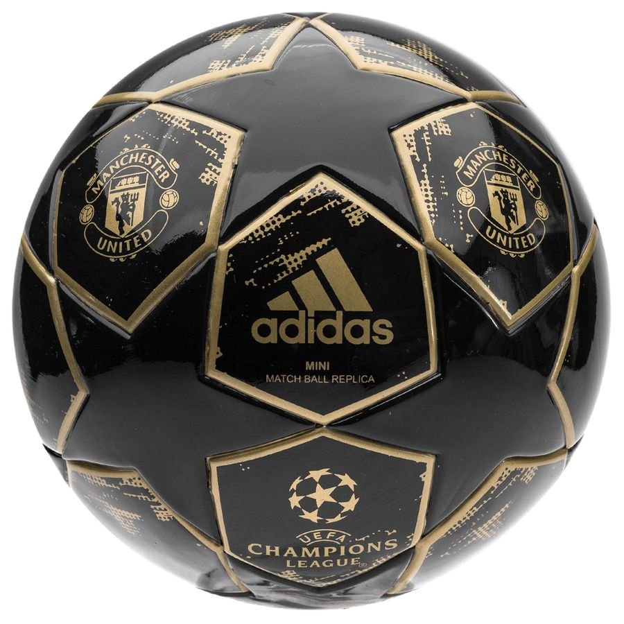 Manchester United Fodbold Champions League 2018 Finale Mini - Navy/Guld
