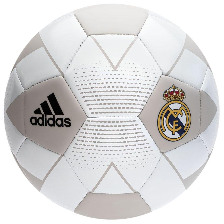 Real Madrid Fodbold - Hvid/Grå