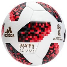 adidas Football World Cup 2018 Telstar 18 Match Ball Mechta Pack - White/Solar Red/Black PRE-ORDER
