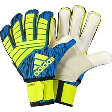 Image of   adidas Målmandshandske Predator Ultimate Energy Mode Fingersave - Gul/Blå
