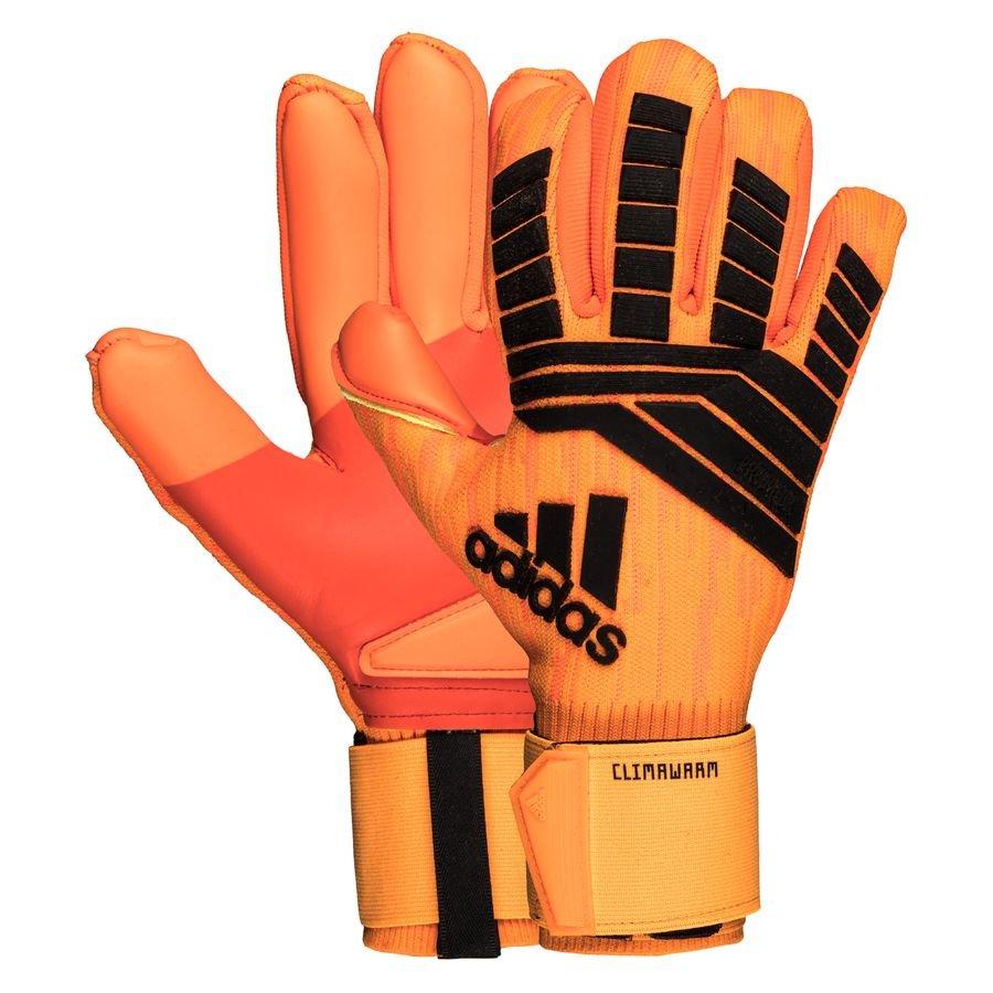 kiwi vegetariano A la verdad  adidas Goalkeeper Gloves Predator Climawarm Cold Mode - Solar Red/Black |  www.unisportstore.com