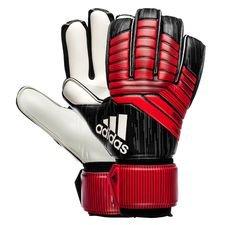 adidas målmandshandske predator league team mode - sort/sort/rød/hvid - målmandshandsker