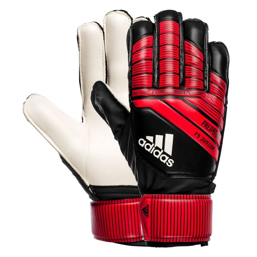c91a6c98d739 adidas gants de gardien predator training team mode - noir rouge blanc -  gants ...