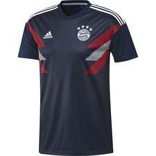 Image of   Bayern München Trænings T-Shirt Pre Match - Navy/Hvid