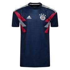 Bayern München Trainingsshirt Pre Match - Navy/Wit Kinderen