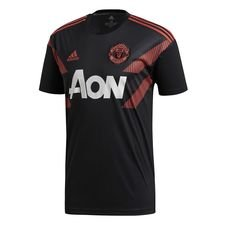 Manchester United Trainingsshirt Pre Match - Zwart/Rood