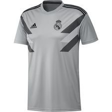Real Madrid Tränings T-Shirt Pre Match - Grå/Svart Barn