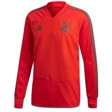 bayern münchen training shirt - red/utility ivy - training tops