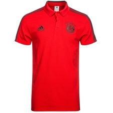 bayern münchen polo - red/black - polo shirts