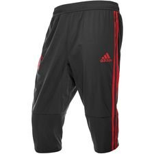 bayern münchen training trousers 3/4 - black/red - training pants