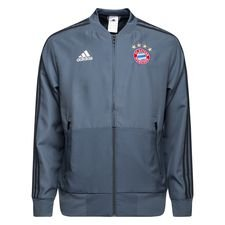 Presentation jakke, som spillerne varmer op i inden deres europæiske kampe. Træningsjakken er lavet i adidas åndbare climalite materiale, som er med at give