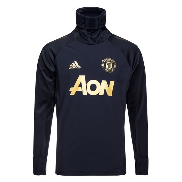 6694b34a328 109.95 EUR. Price is incl. 19% VAT. -25%. Manchester United Training Shirt  UCL Warm - Night Navy