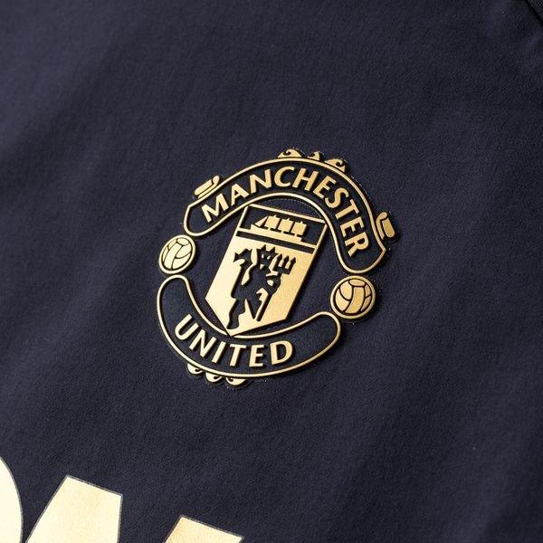 c81512804 Manchester United Training Shirt UCL Warm - Night Navy | www ...