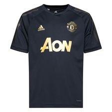 Manchester United Tränings T-Shirt UCL - Svart/Guld