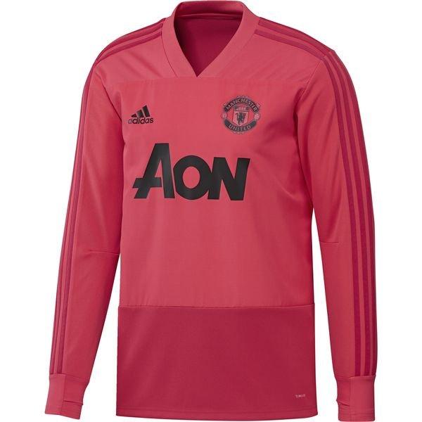 Manchester United Træningstrøje - Pink/Rød/Sort