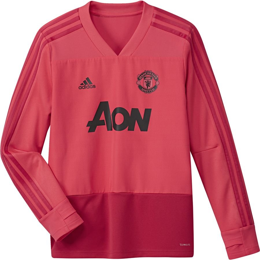Manchester United Training Shirt Core Pink Blaze Red Kids Www Unisportstore Com