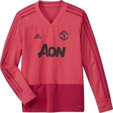 Manchester United Träningströja - Rosa/Röd Barn