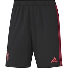 Image of   Manchester United Shorts Woven - Sort/Rød