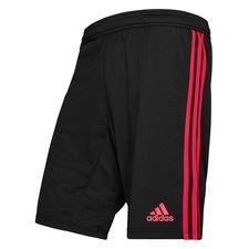 Manchester United Shorts - Svart/Röd