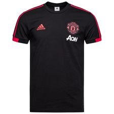 manchester united t-shirt - sort/rød/pink - t-shirts
