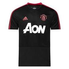 Manchester United Tränings T-Shirt - Svart/Röd