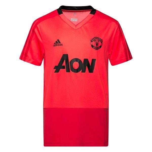 0617d67d Manchester United Trenings T-Skjorte - Rød/Sort Barn | www ...