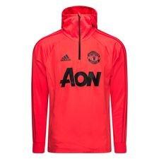 Manchester United Träningströja Warm - Rosa/Svart
