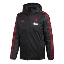 Manchester United Vinterjacka - Svart/Rosa