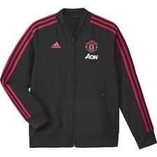 Manchester United Jacka Pre Match - Svart/Röd Barn