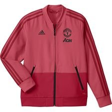 Manchester United Jacka Pre Match - Rosa/Röd Barn