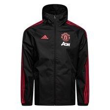 Manchester United Regnjacka - Svart/Röd/Rosa