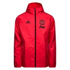 Manchester United Regnjacka Rosa/Röd/Svart