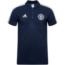 Image of   Manchester United Polo - Navy/Hvid