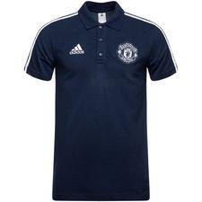 Manchester United Piké - Navy/Vit