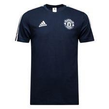 Manchester United T-Shirt 3S - Navy/Vit