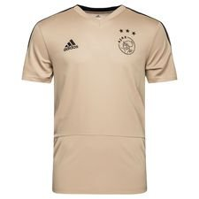 ajax trænings t-shirt - guld/sort børn - t-shirts